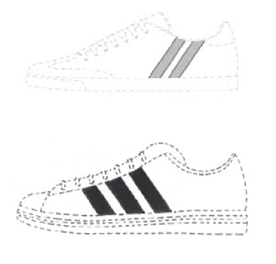 Adidas verhindert die Eintragung von zwei Parallelstreifen auf Schuhen als Marke